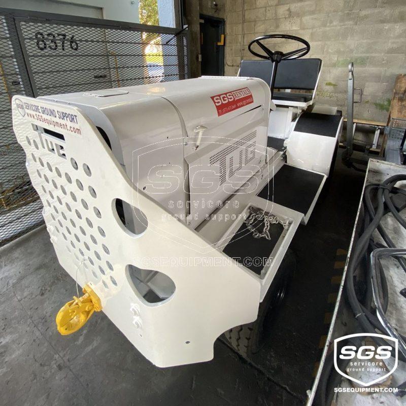 TUG MA50 Baggage Tractor Perkins Engine