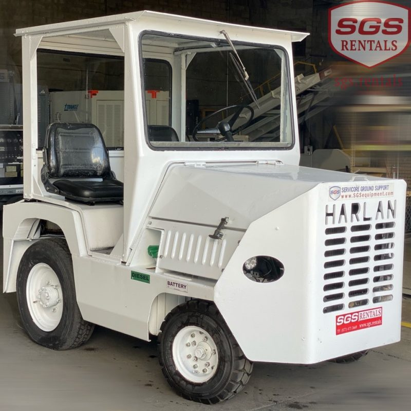 Harlan baggage tractor 5000 lbs dbp capacity