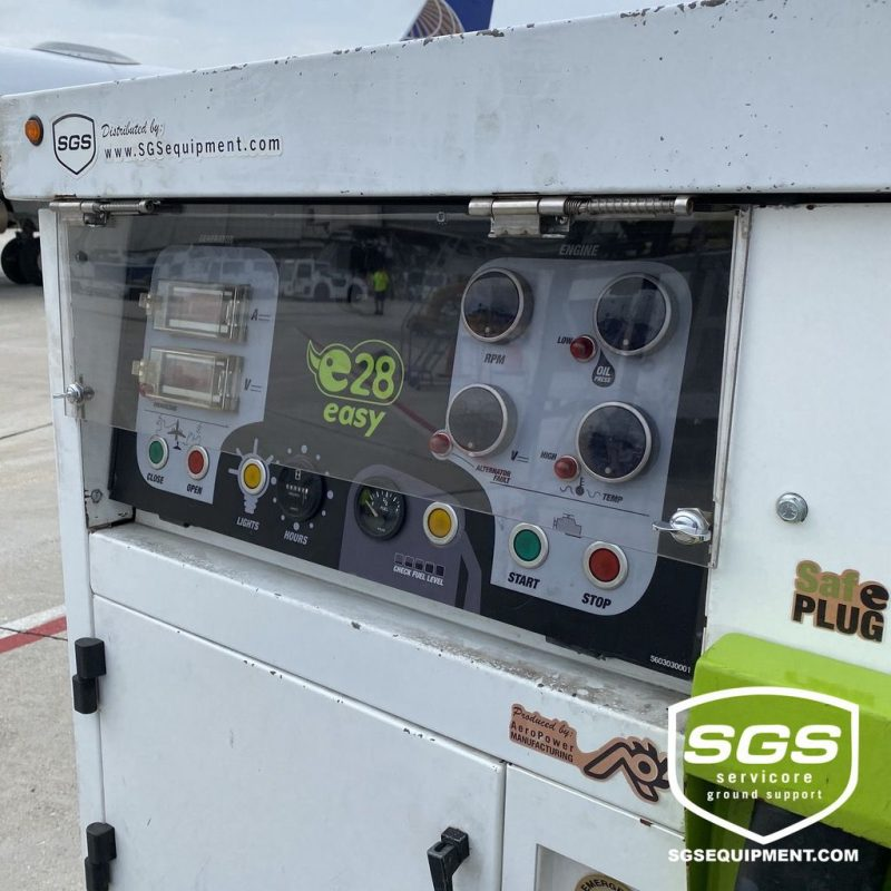 e28 Ground power unit 28.5 VDC SR0001